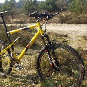 2000 K2 Razorback RSX in yellow