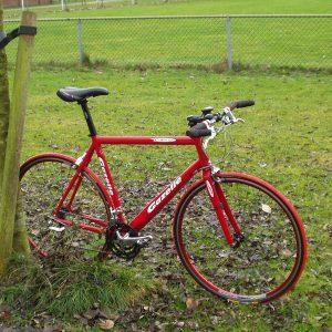 2003 Gazelle Catena fiets in rood