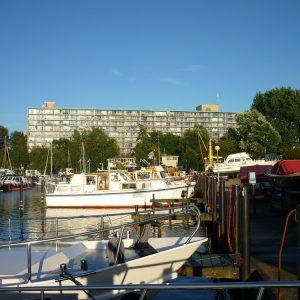 Jachthaven de Hanze en James Last flat