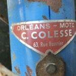 Motobecane-Cyclotouriste-1950s headbadge